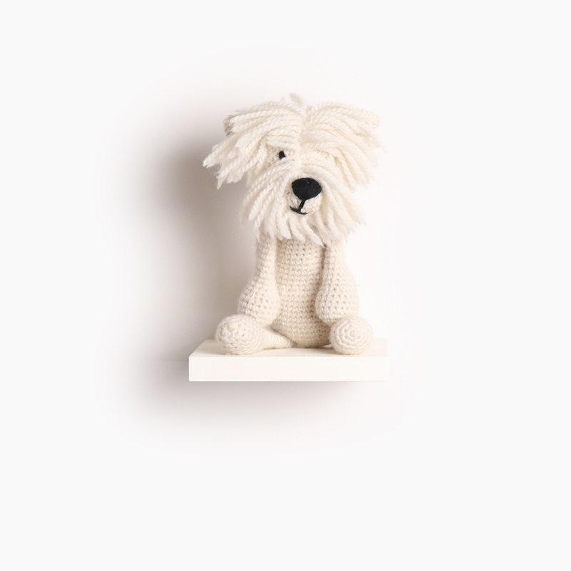 terrier dog puppy crochet amigurumi project pattern kerry lord Edward's menagerie