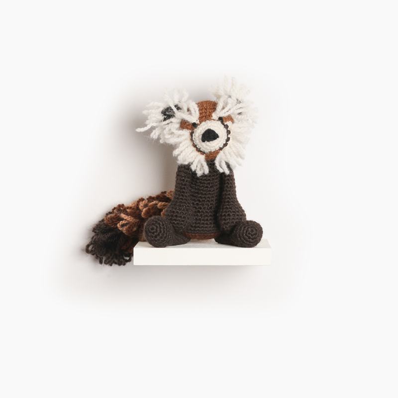 red panda crochet amigurumi project pattern kerry lord Edward's menagerie