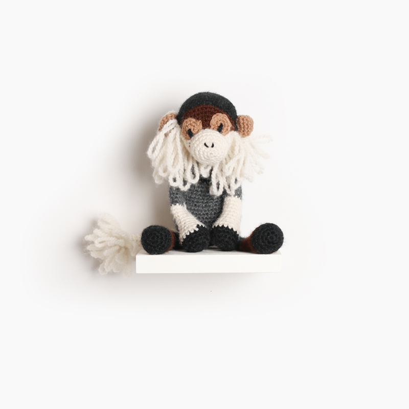 primate crochet amigurumi project pattern kerry lord Edward's menagerie