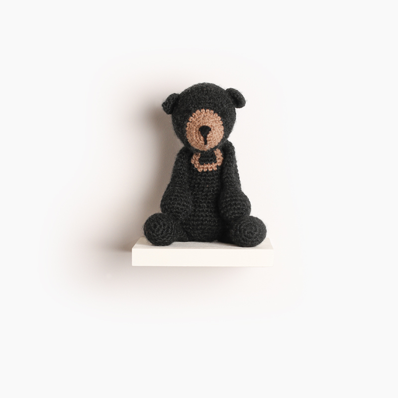 bear crochet amigurumi project pattern kerry lord Edward's menagerie