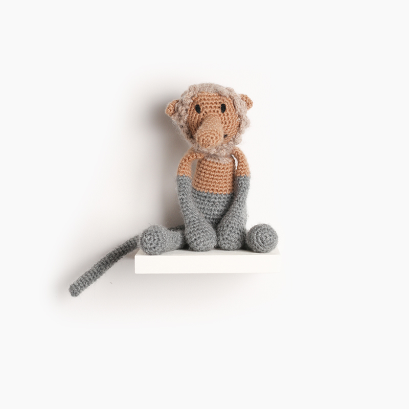 monkey crochet amigurumi project pattern kerry lord Edward's menagerie