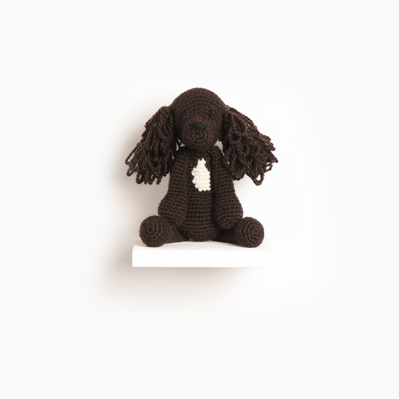 sprocker, eds animals, edwards crochet, edwards menagerie, kerry lord