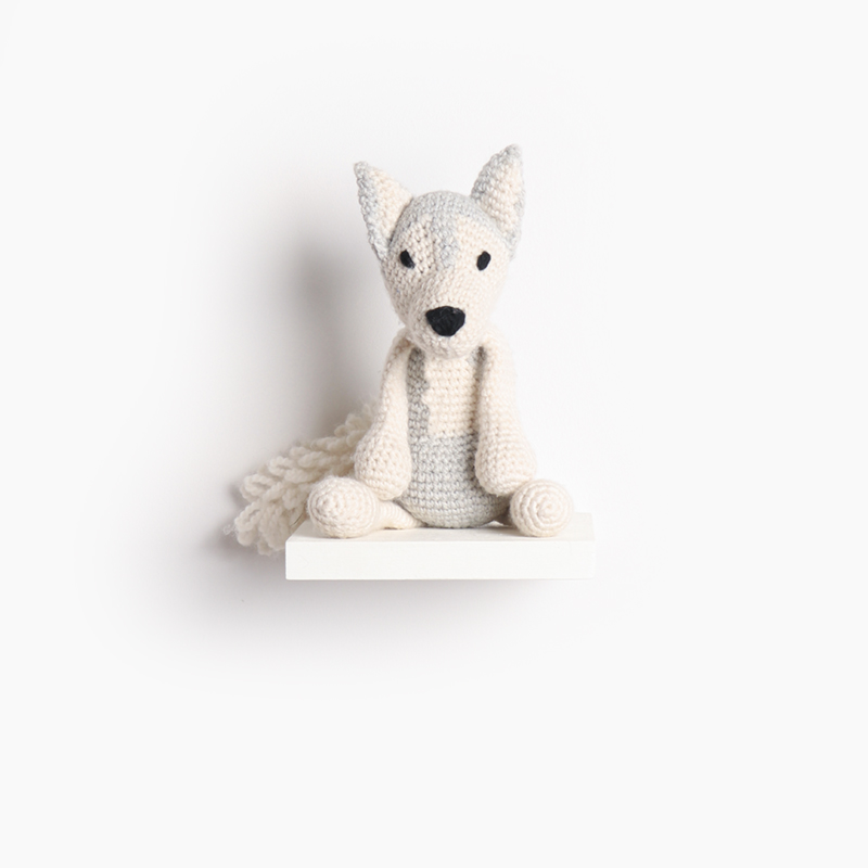 husky dog puppy crochet amigurumi project pattern kerry lord Edward's menagerie