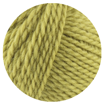 TOFT luxury lime green yarn in DK