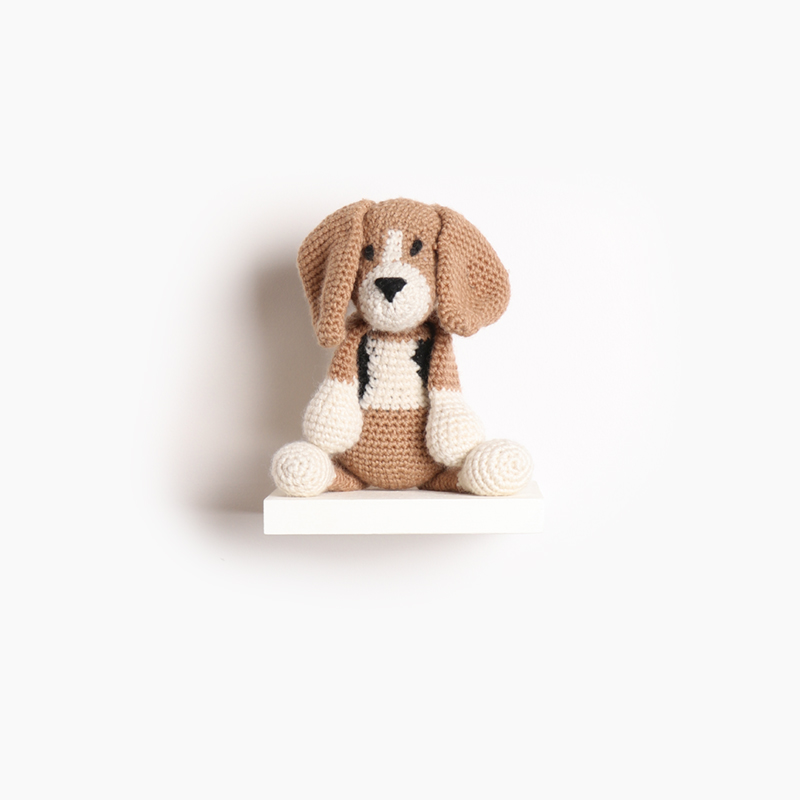 toft lola the beagle amigurumi crochet animal