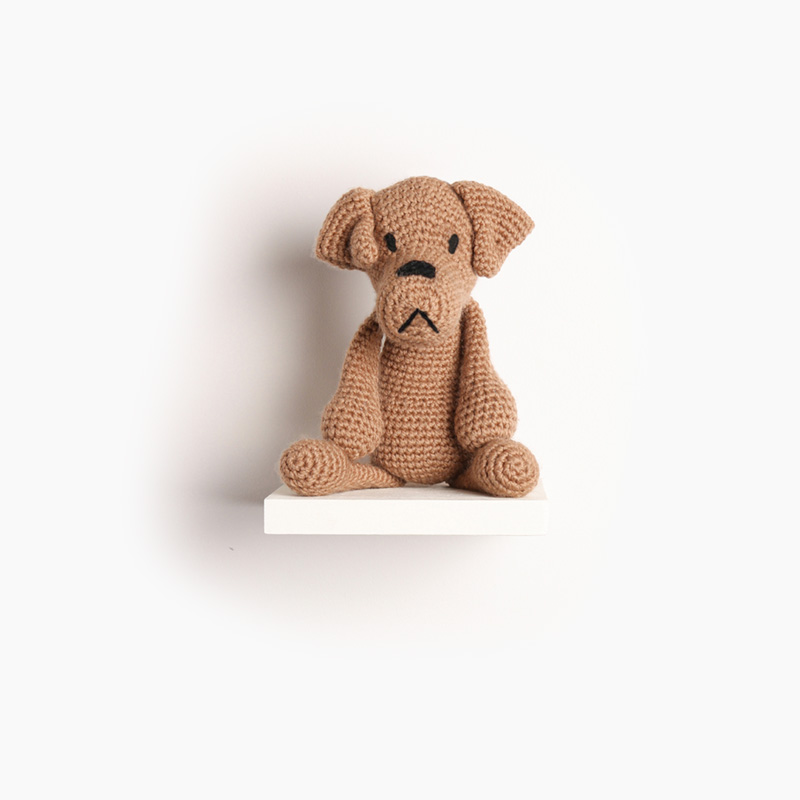 dog puppy crochet amigurumi project pattern kerry lord Edward's menagerie