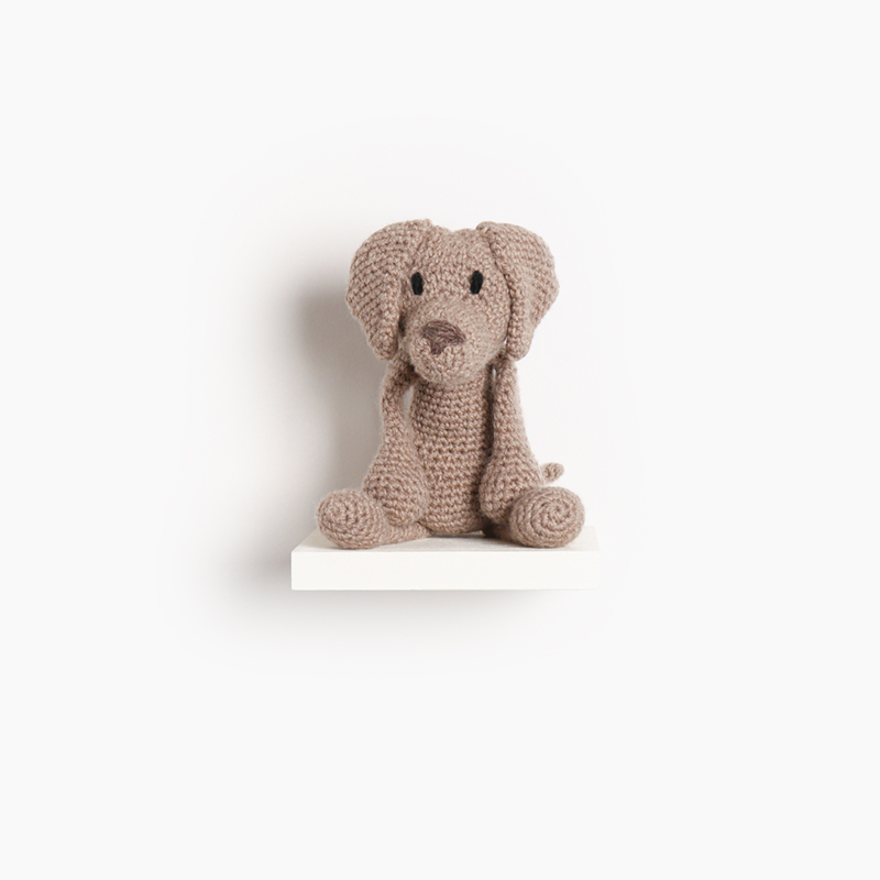 weimaraner crochet amigurumi project pattern kerry lord Edward's menagerie