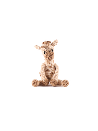 toft ed's animal mini giraffe amigurumi crochet