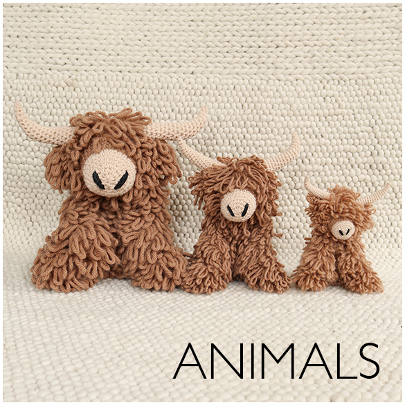 Crochet Animal Patterns by Kerry Lord