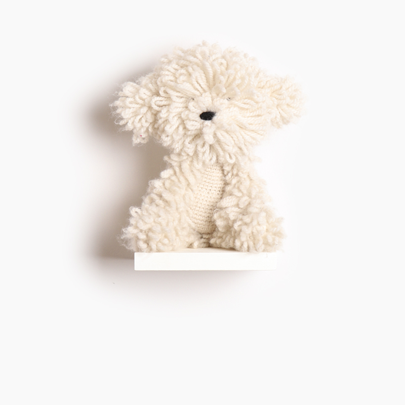 toft myra the bichon frise amigurumi crochet animal