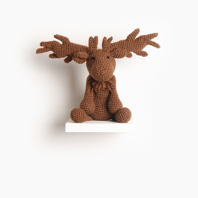 deer crochet amigurumi project pattern kerry lord Edward's menagerie