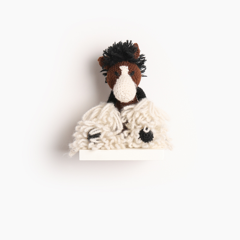 horse crochet amigurumi project pattern kerry lord Edward's menagerie