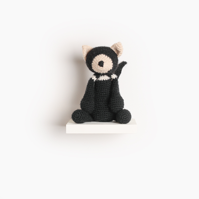 Tasmanian devil crochet amigurumi project pattern kerry lord Edward's menagerie