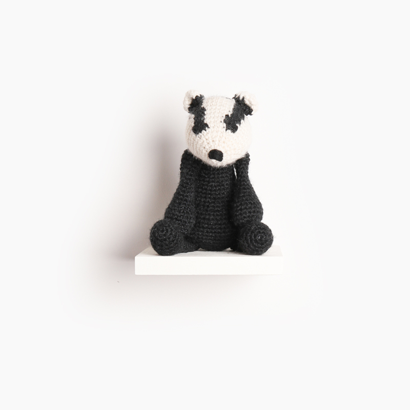 edwards menagerie crochet badger pattern