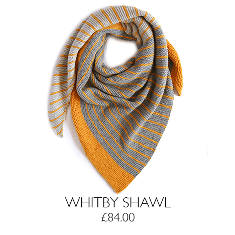Whitby Knitted Shawl Kit