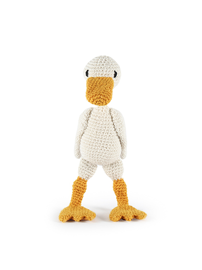 toft ed's animal geraldine the duck amigurumi crochet
