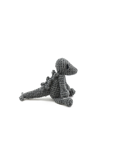 toft ed's animal mini Stanley the stegosaurus amigurumi crochet