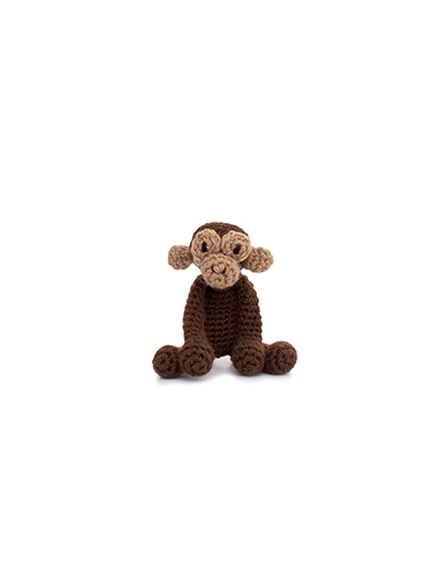 toft ed's animal tmini benedict the chimpanzee amigurumi crochet