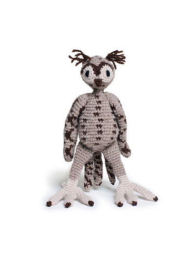 toft ed's animal enid the long-eared owl amigurumi crochet