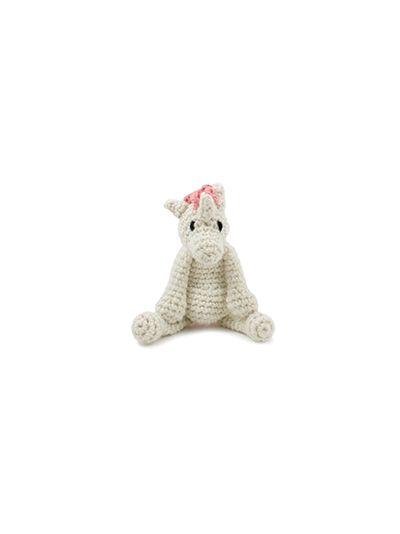 toft ed's animal mini chablis the unicorn amigurumi crochet