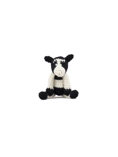 toft ed's animal mini sarah the friesian cow amigurumi crochet