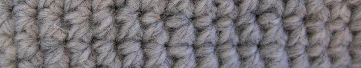 double crochet close up
